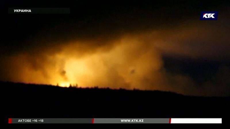 Из-за пожара на военном складе пострадали 60 человек