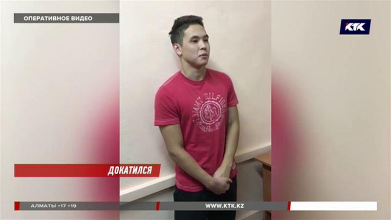 Распоясавшийся алматинский лихач арестован