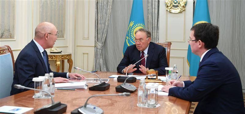 Нурсултан Назарбаев встретился с управляющим Международным финансовым центром «Астана»