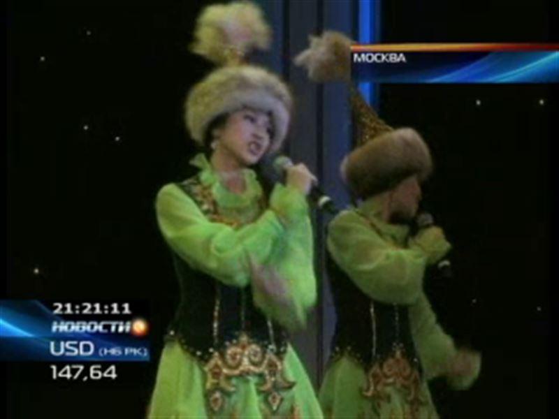 Казахстанские исполнители на сцене Московского театра Эстрады