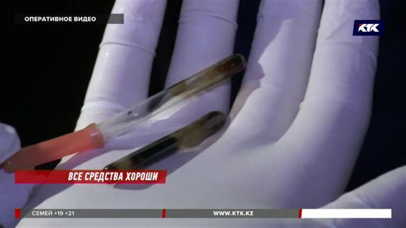 Алматинцы узнают, кто принимает наркотики, из газет