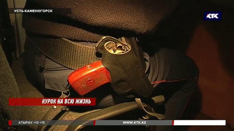 Из-за одного пистолета в Усть-Каменогорске уволили 12 полицейских