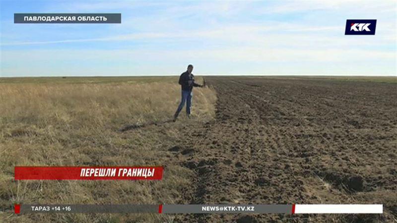 Китайские аграрии «по ошибке» перепахали поля с люцерной у павлодарского фермера