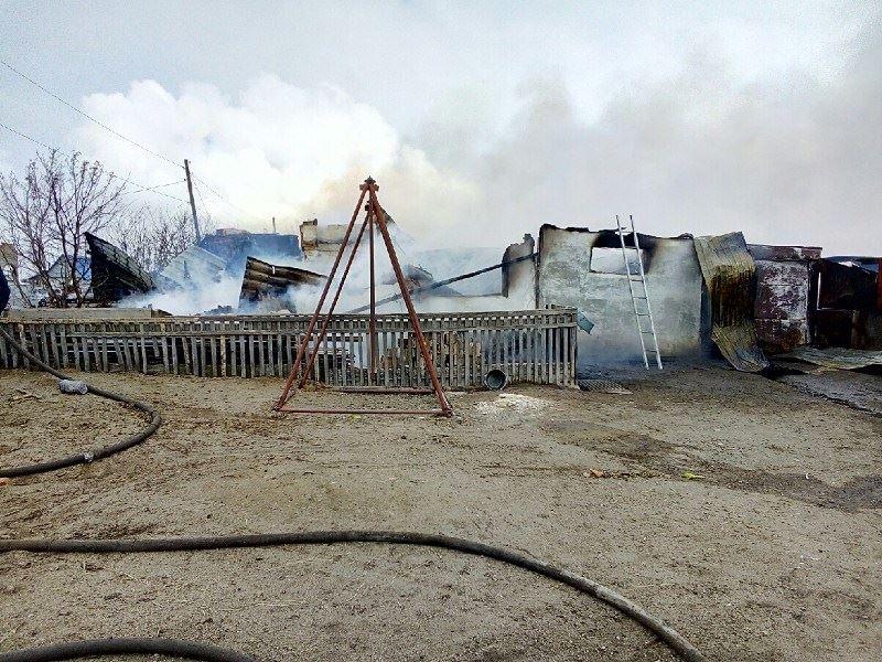 В СКО в результате пожара погиб четырехлетний ребенок