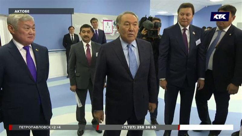 Нурсултан Назарбаев встретился с актюбинскими врачами