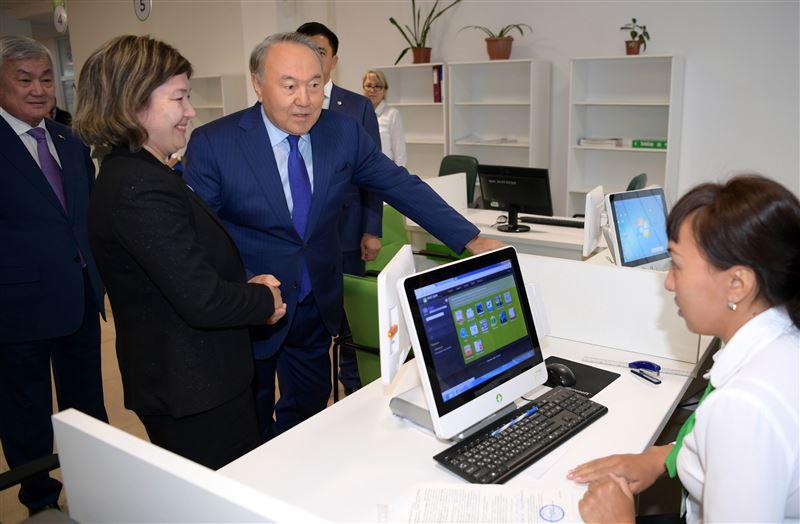 Назарбаев посетил актюбинский центр энергоэффективности