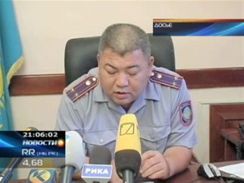 Главный полицейский Актобе лишился кресла после того, как жестоко избил подчинённую