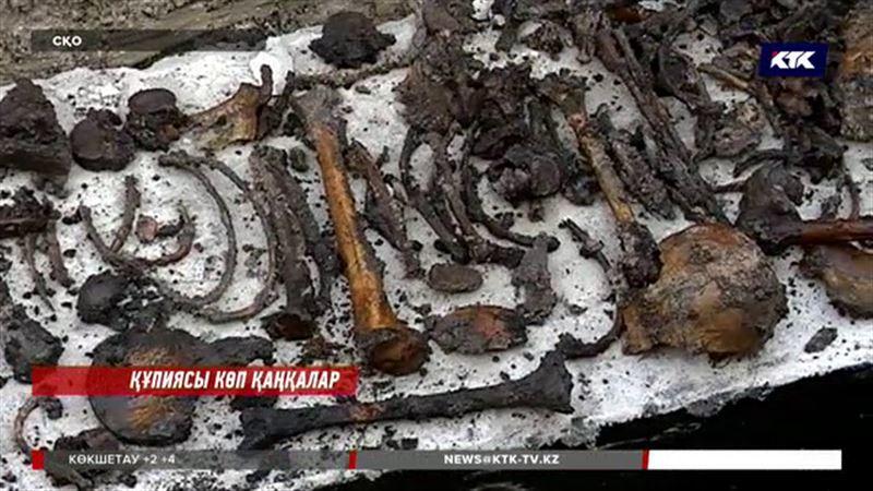 Петропавлда құрылыс алаңынан бірнеше адамның қаңқасы табылды