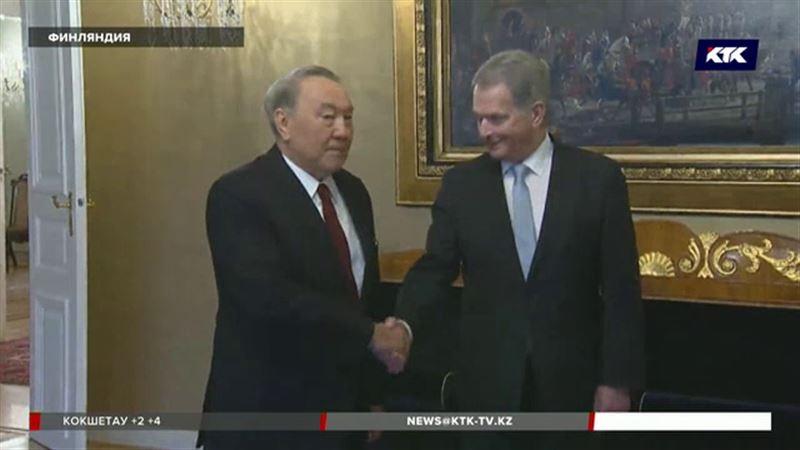 Финские бизнесмены рассказали Назарбаеву, что хотят работать с Казахстаном