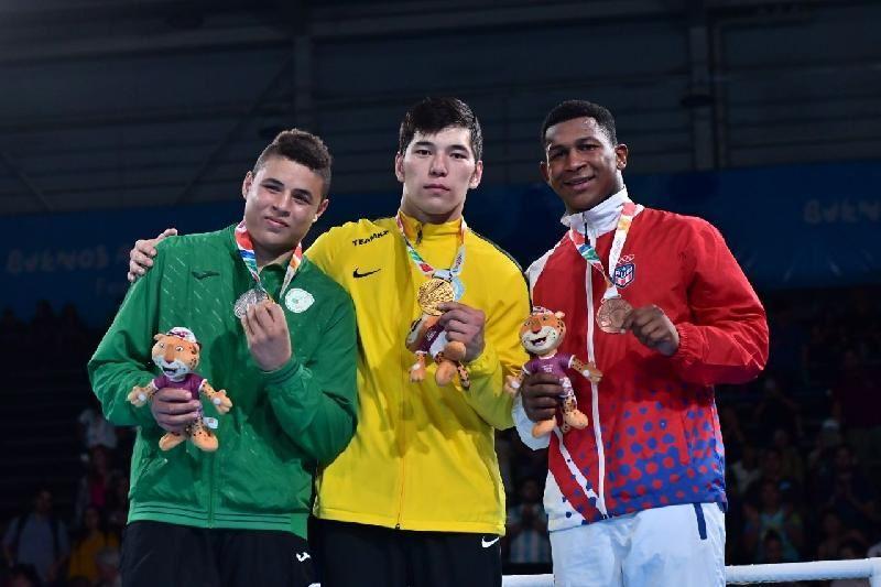 Айбек Оралбай Жасөспірімдер олимпиадасында алтын медаль алды