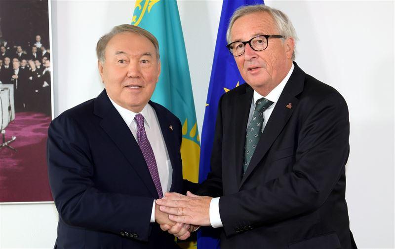 Нурсултан Назарбаев встретился с председателем Европейской комиссии