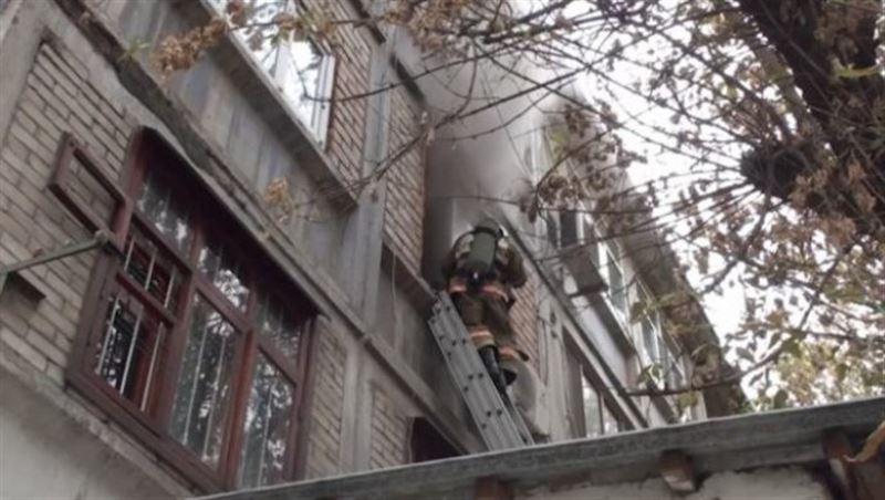 В Шымкенте в результате пожара погиб инвалид
