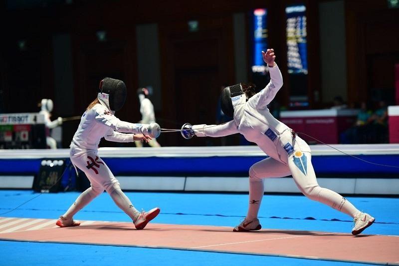 Қазақстандық семсерлесушілер Азия чемпионатында тағы екі алтын алды