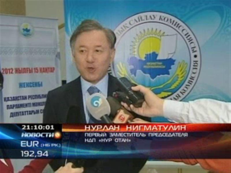 Партии, участвующие в выборах, получили порядковые номера