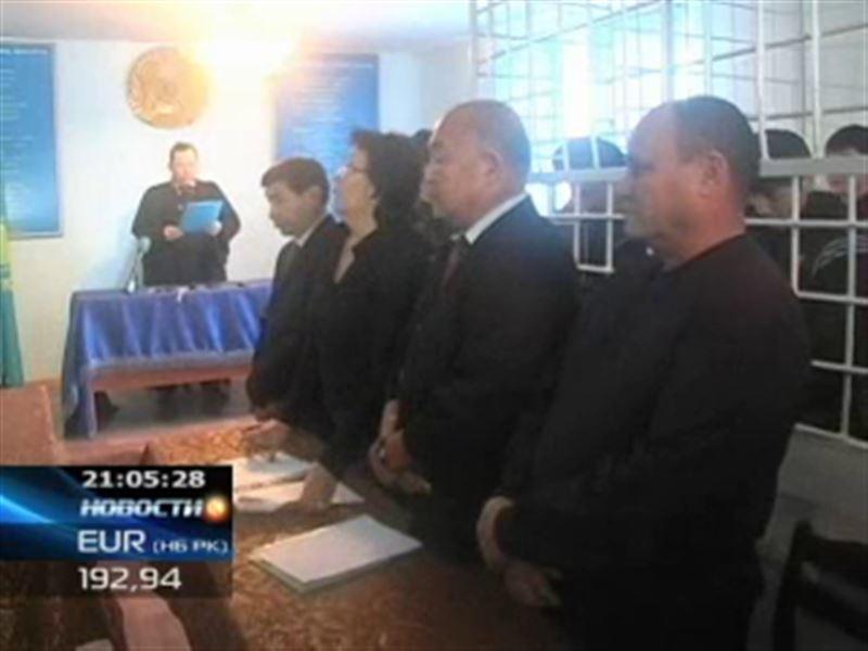 В Актобе вынесли приговор ещё одной группе террористов
