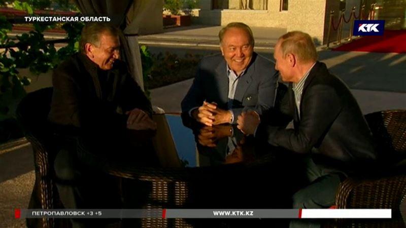 Президенты встретились среди виноградников