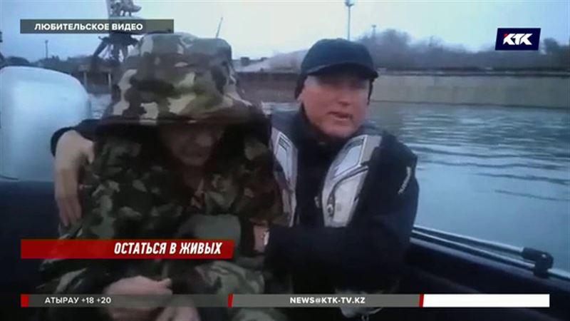 Самоубийца прыгнул в Иртыш и почти угодил в рыбацкую лодку