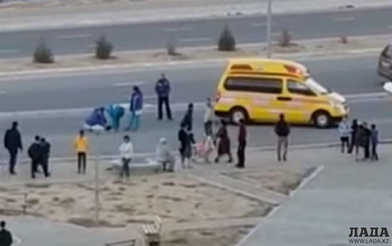 Пятилетнего ребенка сбили насмерть в Актау: видео попало в Сеть