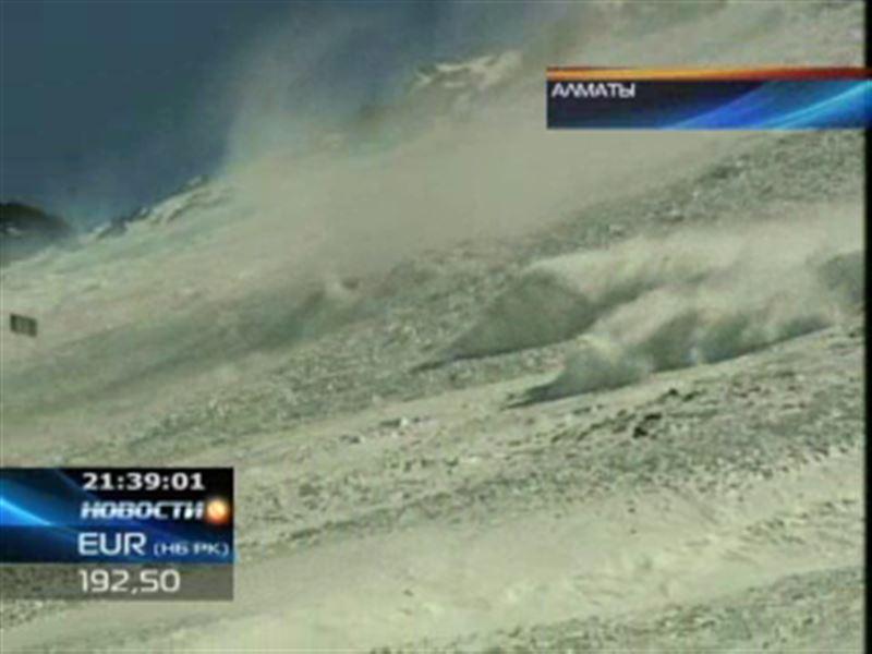 В горах Алматы лавиноопасно