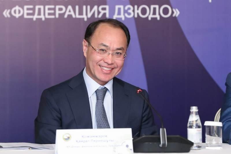Қайрат Қожамжаров дзюдо федерациясының президенті болды