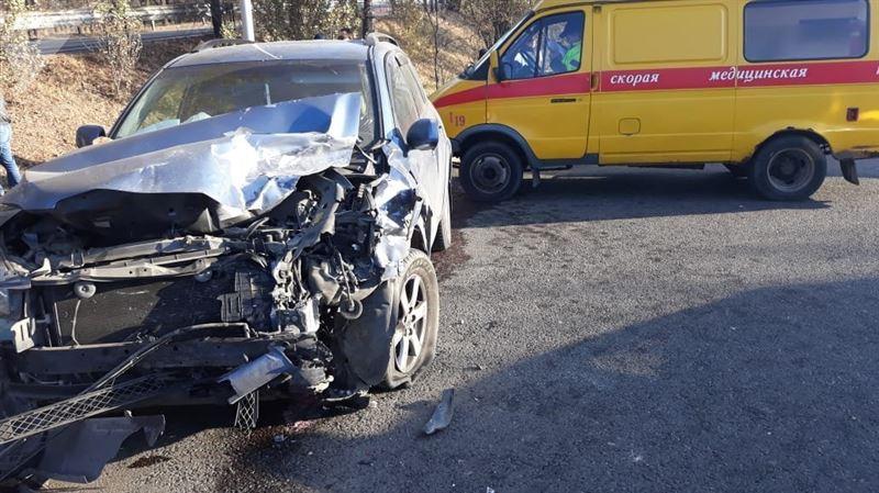 В Алматы солдат стал жертвой жуткой аварии