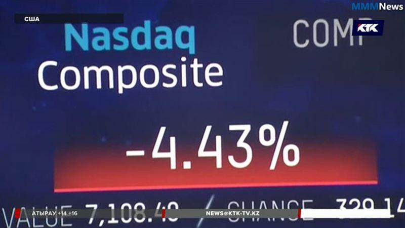 На рынке акций США обвал – компании теряют миллиарды долларов