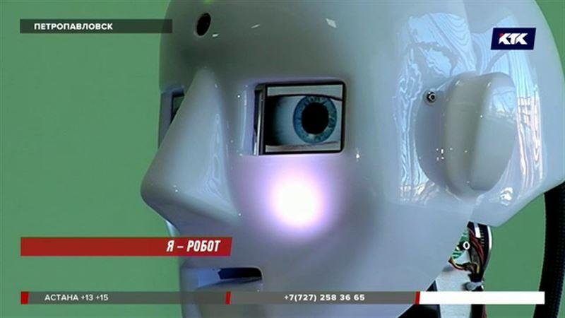 Путина и Назарбаева в Петропавловске встретит робот Теспиан