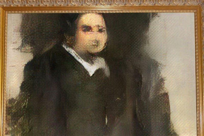 На аукционе продана картина, сгенерированная искусственным интеллектом