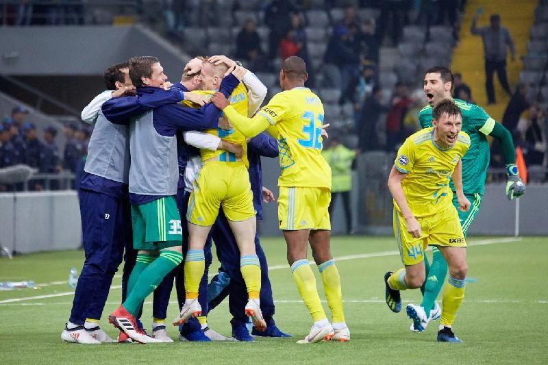 Астана футболдан бесінші жыл қатарынан ел чемпионы атанды