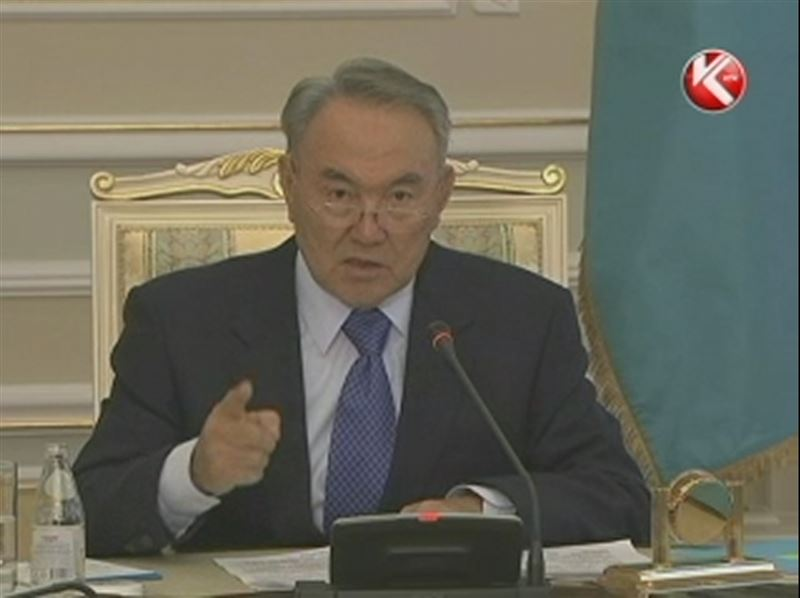 """Президент Назарбаев по поводу событий в Жанаозене: """"Мы это раскроем - откуда идёт финансирование, кто этим занимается"""""""