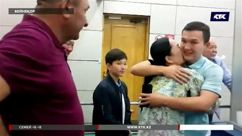 Диас Қадырбаев Қазақстанға оралды