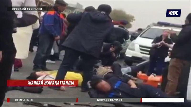 Алматы облысында ірі жол апаты болып, 22  адам зардап шекті