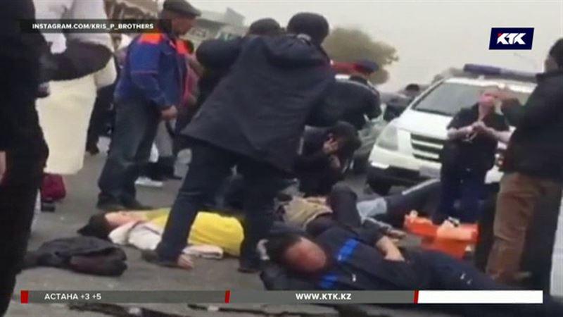 На трассе Алматы – Бишкек пострадали 22 человека
