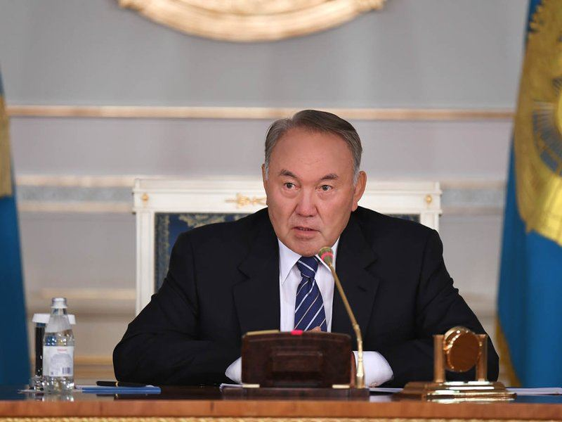 Назарбаев Индонезия президентіне көңіл айтты