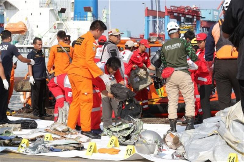 В Индонезии на месте крушения лайнера нашли тела 24 человек