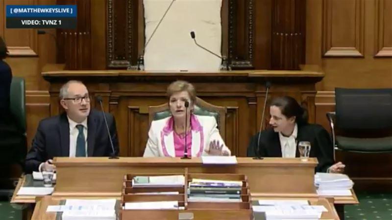 Заседание парламента Новой Зеландии было приостановлено из-за землетрясения