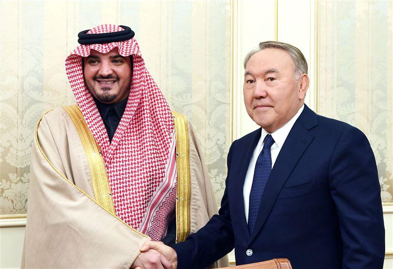 Президент Казахстана встретился с главой МВД Саудовской Аравии