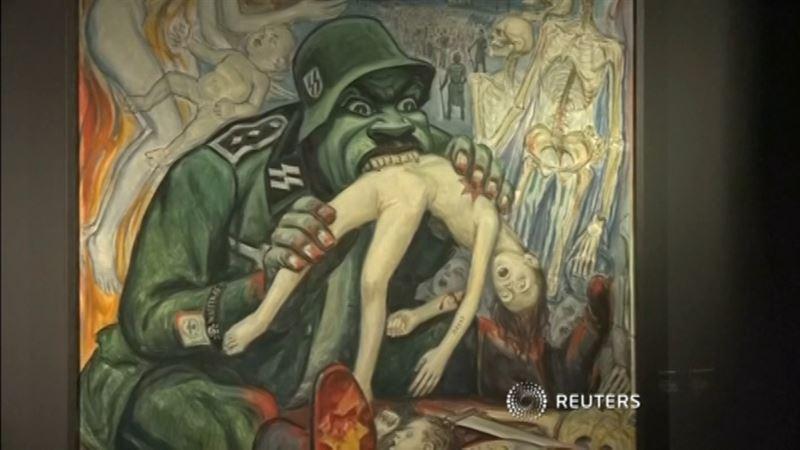 ФОТО: Освенцимде жантүршіктірер көрме ашылды