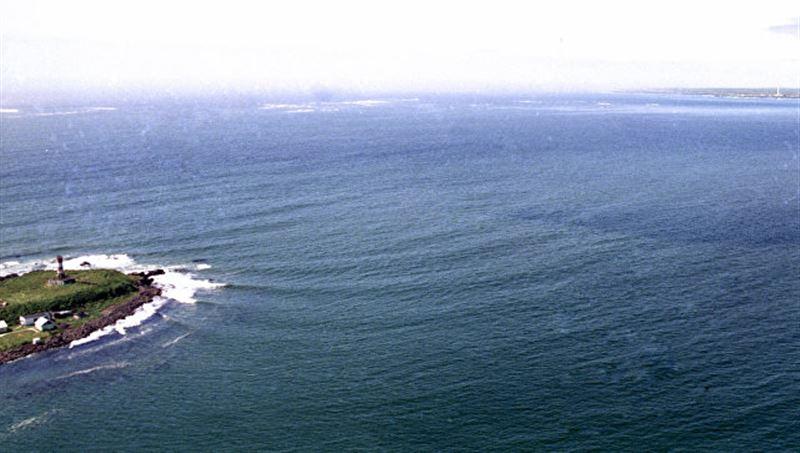 Японский остров ушел под воду в районе Курил