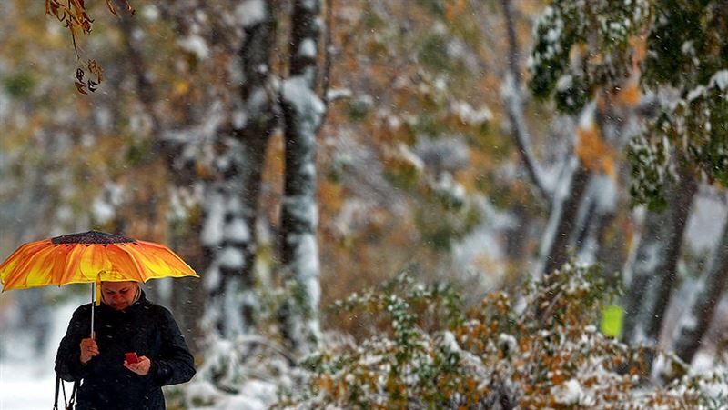 Зимняя погода со штормовым ветром ждет Казахстан 5 ноября
