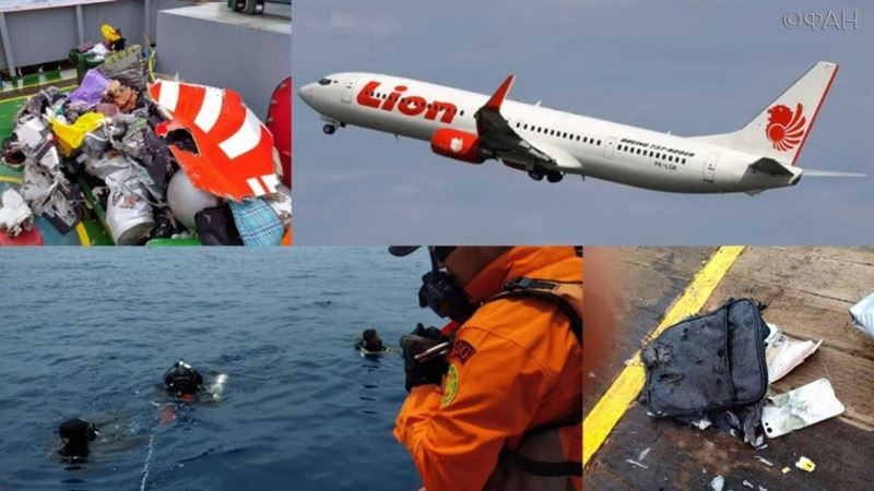 Стала известна причина разрушения индонезийского Boeing
