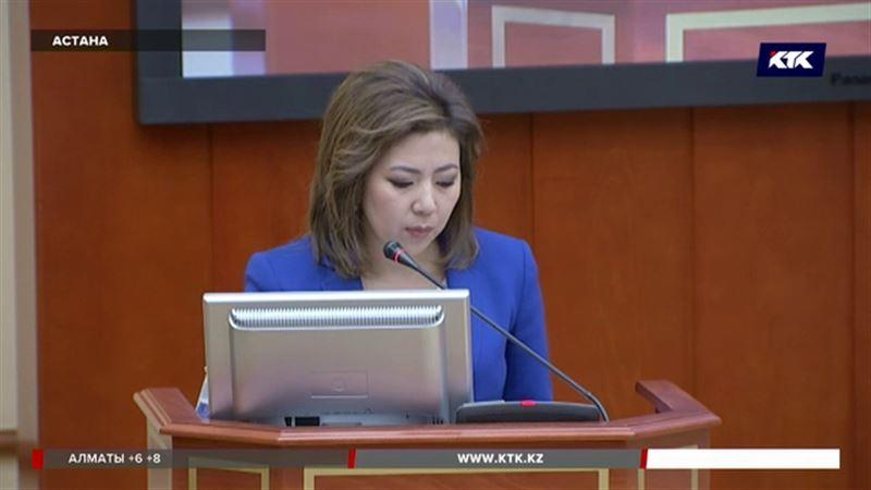 Депутаттар Әбілқасымованы сұрақтың астына алды