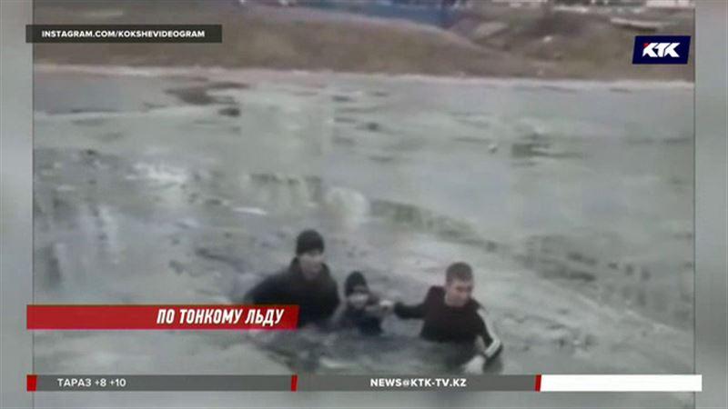 В Кокшетау только двое из присутствующих кинулись спасать тонущего ребенка