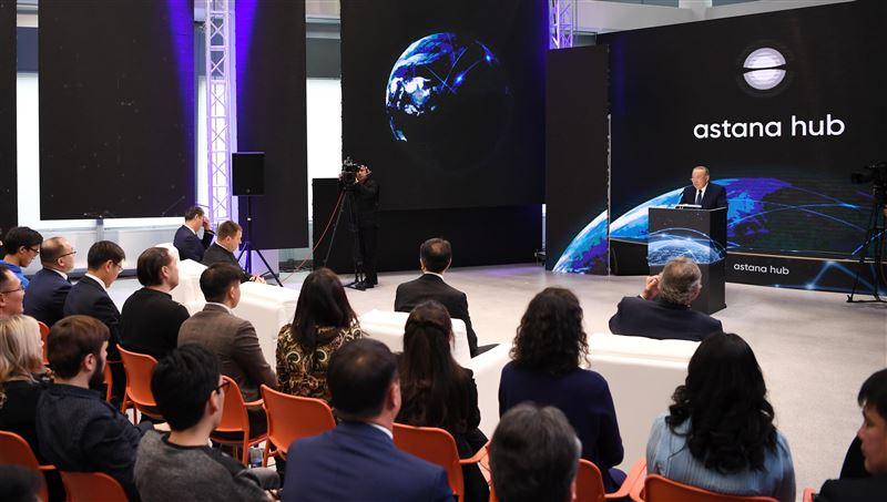 Нурсултан Назарбаев заявил о начале работы технопарка Astana Hub
