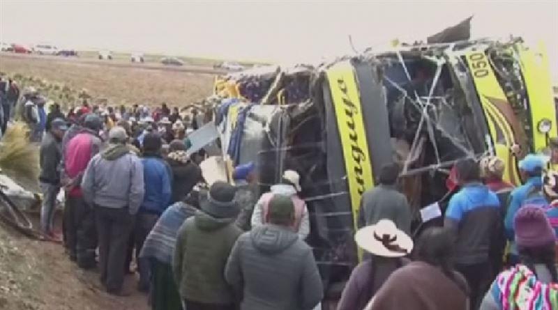 Крупная авария в Перу унесла жизни 18 человек