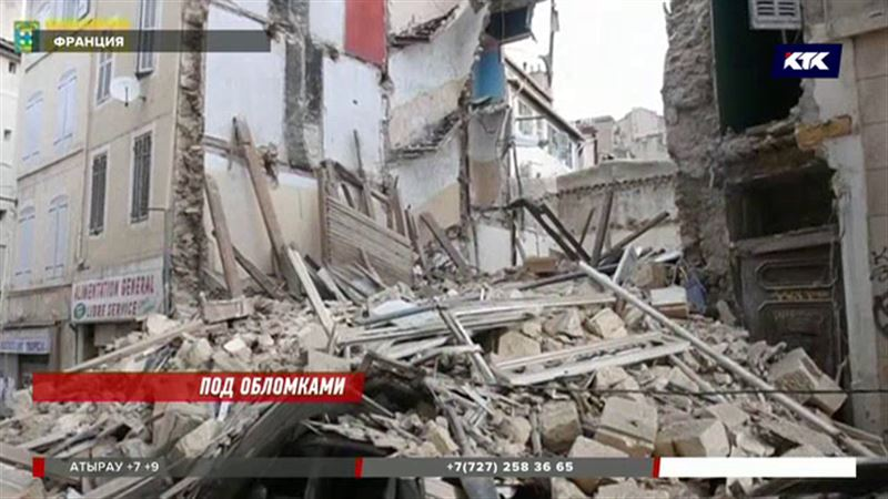 В Марселе на месте обрушения домов обнаружили погибших