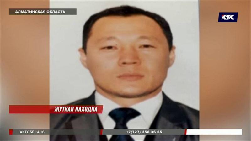 В Алматинской области молодого мужчину зарубили, а после замуровали в бетон