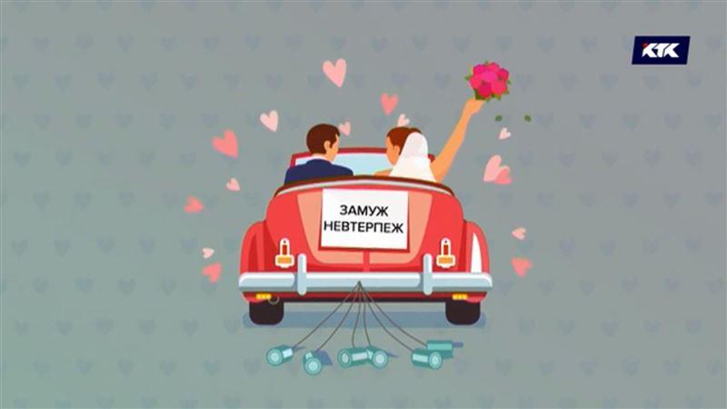 Браки и разводы в Казахстане. Факты в картинках