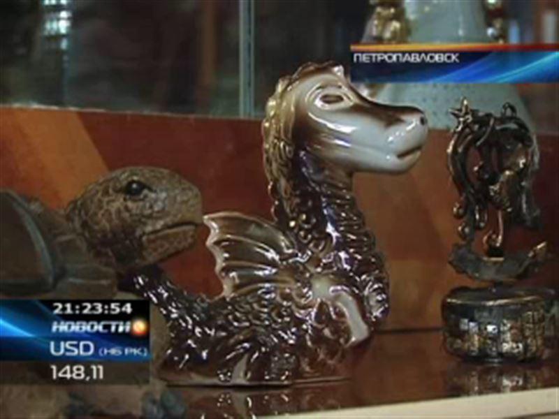 В Петропавловске открыли  выставку, посвящённую драконам