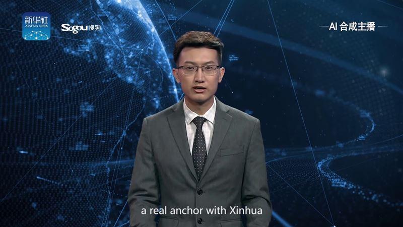 В Китае показали первого в мире виртуального телеведущего